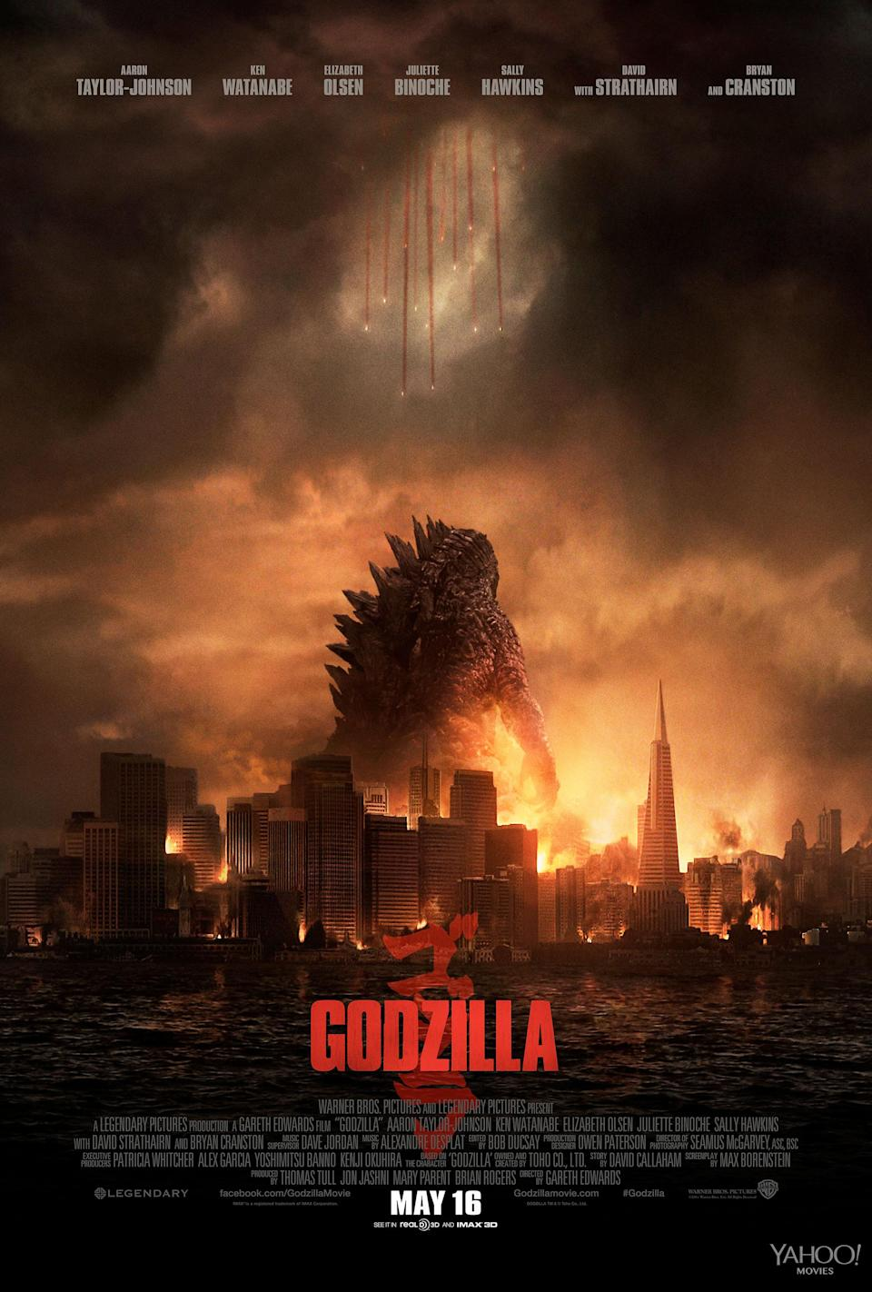 'Godzilla' (Warner Bros. Pictures and Legendary Pictures)