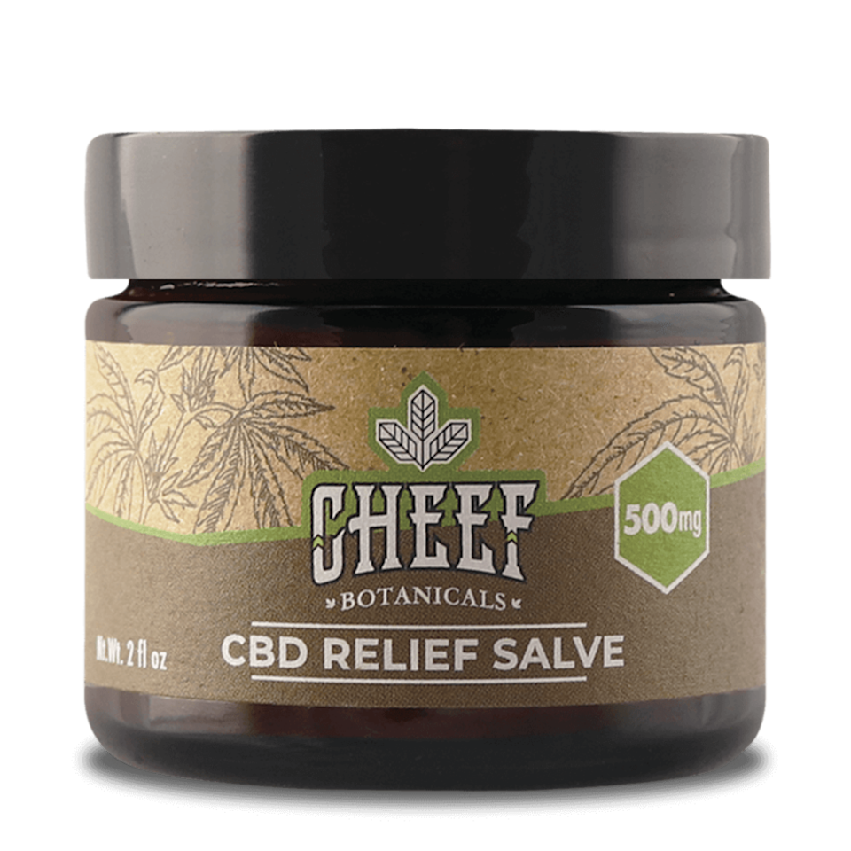 cheef botanicals, best cbd cream for pain