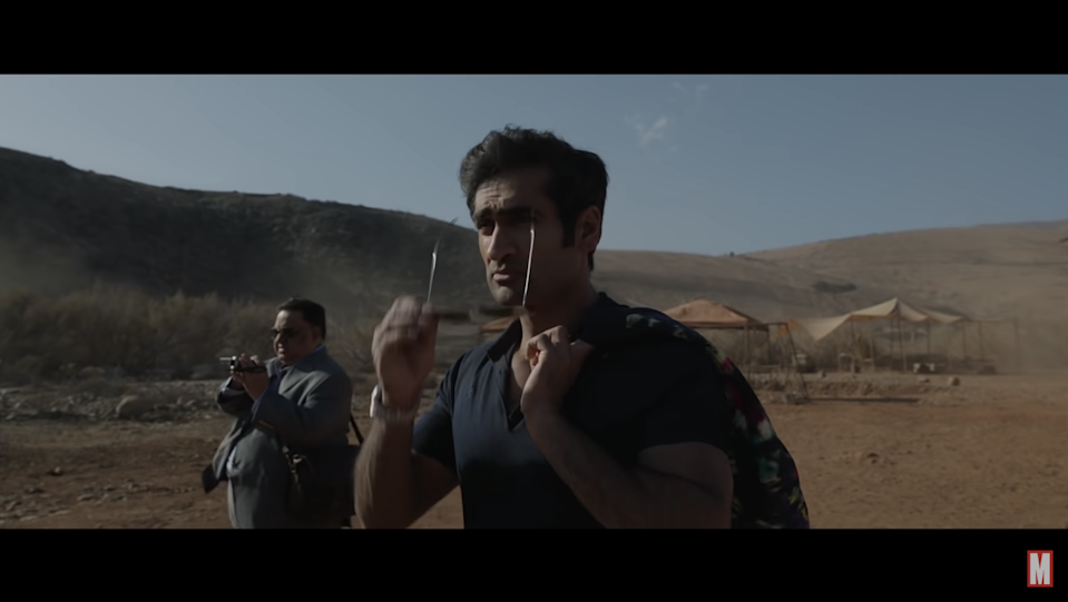 <p>Screengrab of Harish Patel seen in an Eternals clip released by Marvel</p> (Marvel Entertainment/ YouTube)