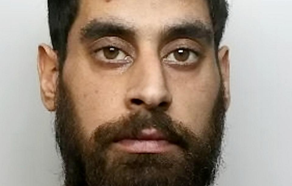 Thamraze Khan has been jailed for life with a minimum of 15 years after being found guilty of murdering his brother during an alcohol-fuelled argument. (SWNS)