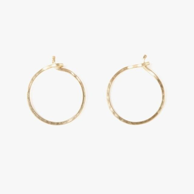 311c3149cc013 15 Pairs of Hoop Earrings That You'll Never Want to Take Off