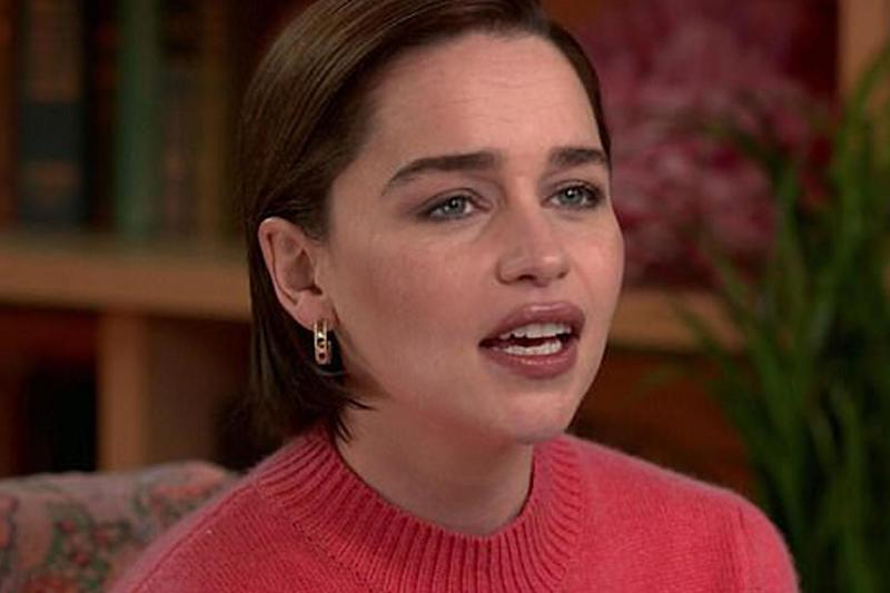 Emilia Clarke has spoken out about suffering two brain aneurysms (CBS Sunday Morning)
