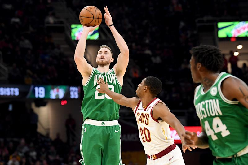 Gordon Hayward had regained his All-Star form before suffering a hand injury. (Jason Miller/Getty Images)