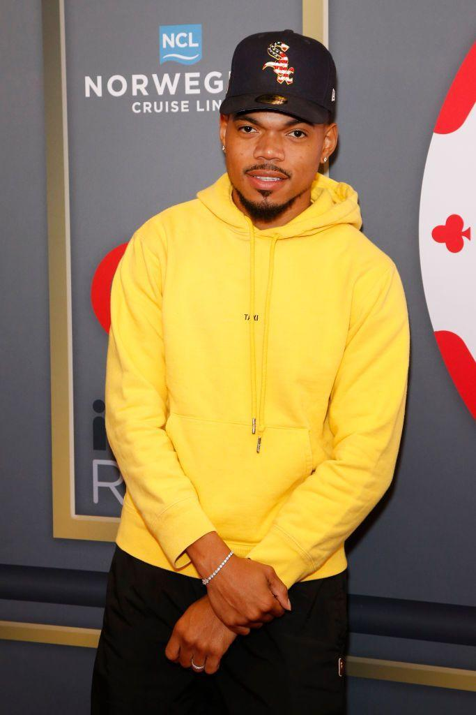 """<p>Chance the Rapper has an Aries stellium in <a href=""""https://astro-charts.com/persons/chart/chance-the-rapper/"""" rel=""""nofollow noopener"""" target=""""_blank"""" data-ylk=""""slk:his birth chart"""" class=""""link rapid-noclick-resp"""">his birth chart</a>: His Mercury and Venus are both in Aries, along with his Sun.</p>"""