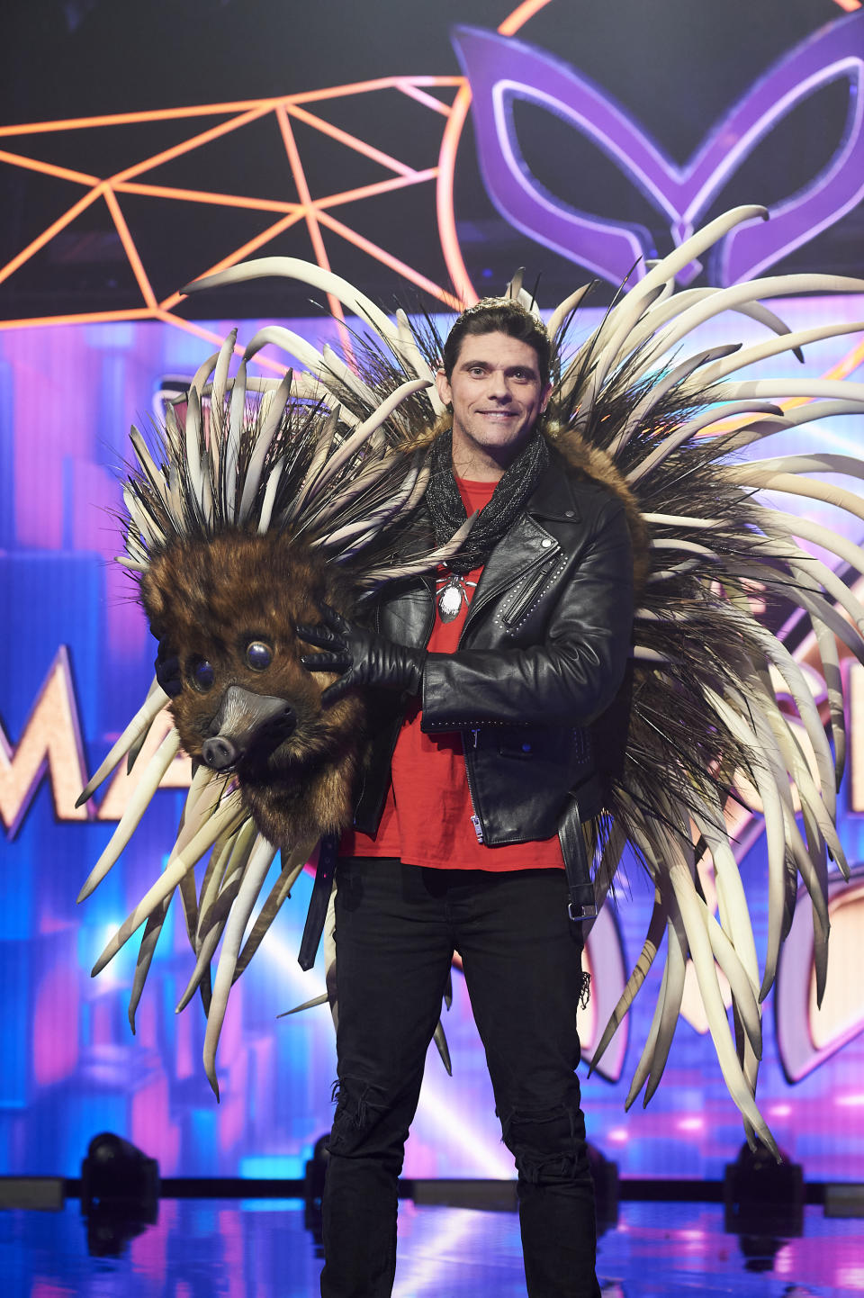 Mark Philippoussis on The Masked Singer
