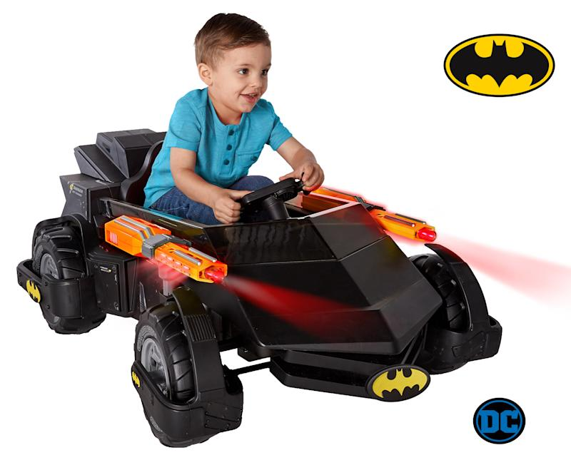Batmobile Battery Powered Ride-On (Photo: Walmart)