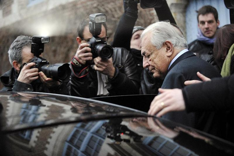 Dominique Strauss-Kahn's denies charges of procuring prostitutes for his sex  parties, but admits