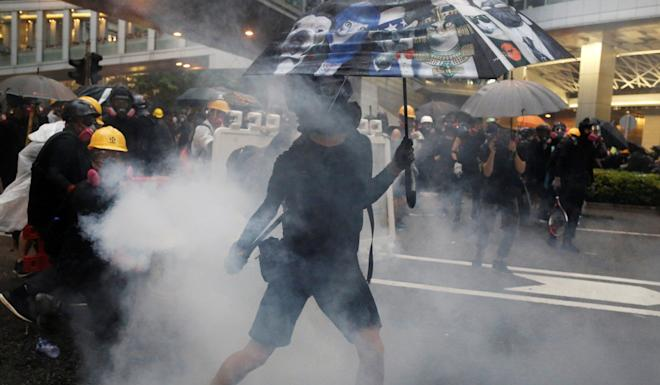 Protesters have repeatedly clashed with police during the recent unrest in Hong Kong. Photo: Reuters