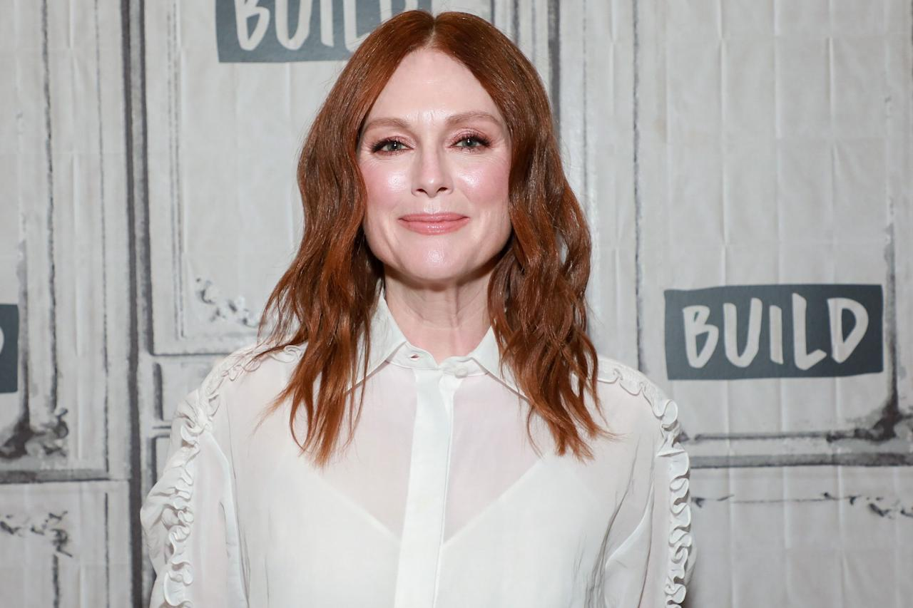 """<p>Julianne Moore has, like, <em>waaay</em> more glowy skin than me (a woman in her 20s). But you know what? I'm okay with it. The 59-year-old Oscar-winner and mom of two has amazing skin, and it's likely due to, among other things, her religious <a href=""""https://www.womenshealthmag.com/beauty/a30794473/julianne-moore-skincare-routine/"""" target=""""_blank"""">SPF commitment</a> (she likes to wear sunscreen you can find at the drugstore), a brand partnership with L'Oréal Paris, <em>and </em>her regular facials with celebrity esthetician <a href=""""https://www.dermstore.com/profile_Joanna+Vargas_502745.htm?lid=2064435&nrtv_cid=5adc7f840ba09115e70a9fd49624b8573c2eb53ef7a2f4d36a0bf5049a974108&utm_source=narrativ&utm_medium=cpc&utm_campaign=womenshealth"""" target=""""_blank"""">Joanna Vargas</a> (brb, scheduling an appointment ASAP). Regardless of what makes Moore so gorg, it's obvious that good skin is in her DNA. Keep scrolling for Moore's dewy, makeup-free skin throughout the years—just be prepared to have major skin envy.</p>"""