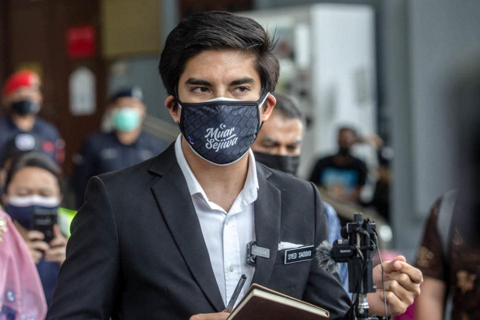 Syed Saddiq suggested that the move may benefit only the elite few rather than enrich the community at the expense of the other minority ethnic groups. — Picture by Firdaus Latif
