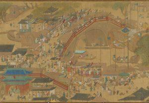 "宋 張擇端 清明易簡圖 (局部) | Up the River During Qingming"" by Zhang Zeduan during Song dynasty (Courtesy of NPM)"