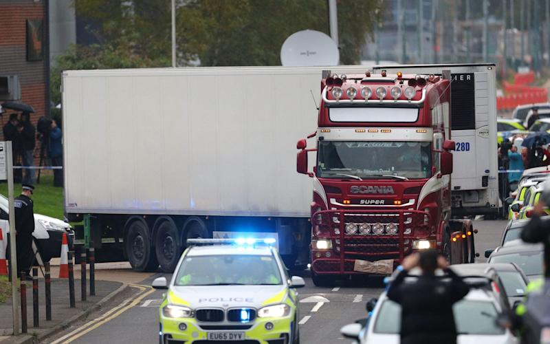 Bodies found in lorry container - PA