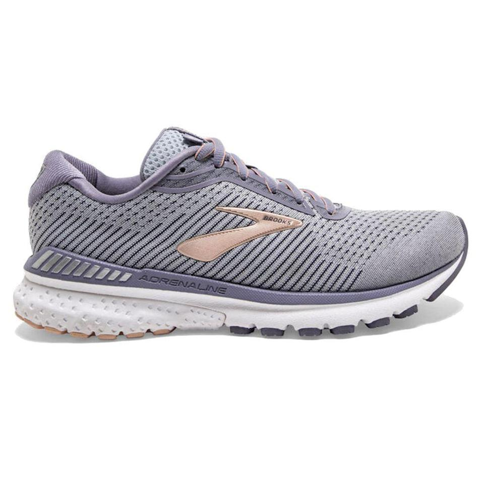 """<p><strong>Brooks</strong></p><p>brooksrunning.com</p><p><strong>$130.00</strong></p><p><a href=""""https://go.redirectingat.com?id=74968X1596630&url=https%3A%2F%2Fwww.brooksrunning.com%2Fen_us%2Fadrenaline-gts-20-womens-road-running-shoe%2F1202961B073.050.html&sref=https%3A%2F%2Fwww.harpersbazaar.com%2Ffashion%2Ftrends%2Fg33234271%2Fcute-running-shoes-for-women%2F"""" rel=""""nofollow noopener"""" target=""""_blank"""" data-ylk=""""slk:Shop Now"""" class=""""link rapid-noclick-resp"""">Shop Now</a></p><p>In the style department, this sneaker runs circles around the competition. </p>"""