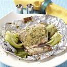 "<p>Steaming fish and vegetables together in a tin-foil packet is a great way to keep the tuna moist and have little to clean up. If baby bok choy is not available, use 8 cups chopped mature bok choy for this quick fish recipe. <a href=""http://www.eatingwell.com/recipe/250678/tuna-bok-choy-packets/"" rel=""nofollow noopener"" target=""_blank"" data-ylk=""slk:View recipe"" class=""link rapid-noclick-resp""> View recipe </a></p>"