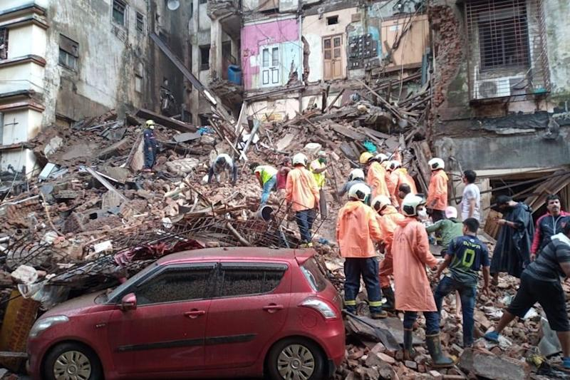 Death Toll Due to Bhanushali Building Collapse in Mumbai Rises to 9: NDRF