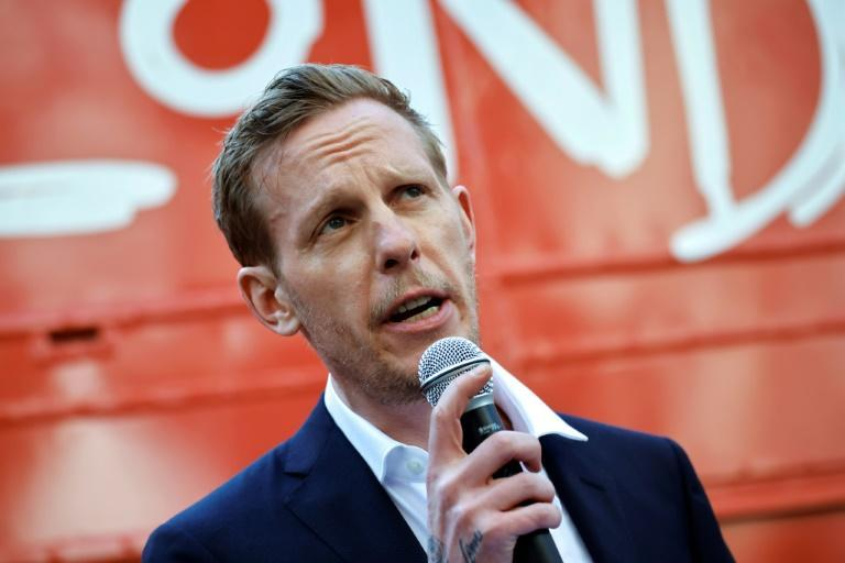 TV actor Laurence Fox is running on a libertarian platform