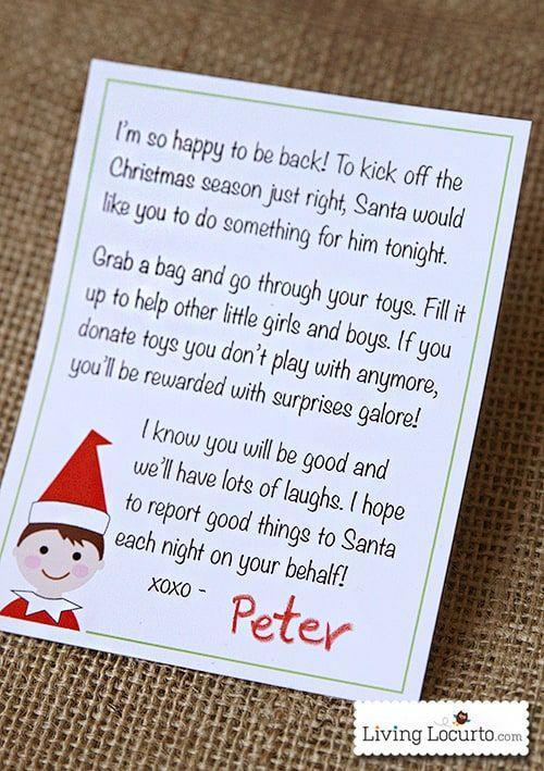 """<p>This printable letter requires almost no work on your behalf. It also introduces your kids to a few important concepts: charity and kindness!</p><p><strong>Get the tutorial at <a href=""""https://www.livinglocurto.com/elf-printable-letter/#_a5y_p=2973335"""" rel=""""nofollow noopener"""" target=""""_blank"""" data-ylk=""""slk:Living Locurto"""" class=""""link rapid-noclick-resp"""">Living Locurto</a>.</strong></p><p><strong><a class=""""link rapid-noclick-resp"""" href=""""https://www.amazon.com/s?k=card+stock&i=garden&ref=nb_sb_noss_2&tag=syn-yahoo-20&ascsubtag=%5Bartid%7C10050.g.29656008%5Bsrc%7Cyahoo-us"""" rel=""""nofollow noopener"""" target=""""_blank"""" data-ylk=""""slk:SHOP CARD STOCK"""">SHOP CARD STOCK</a><br></strong></p>"""