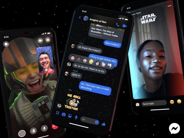 Facebook Messenger gets Star Wars theme to celebrate The Rise of Skywalker