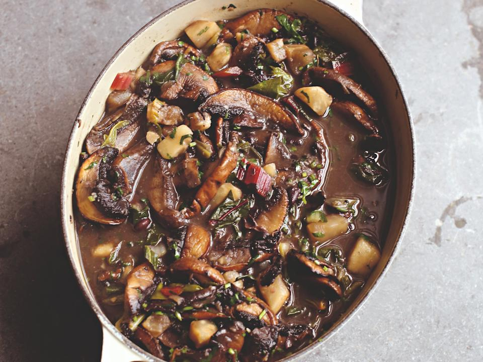 <p>This Asian hot pot will give you perfect umami flavour</p> (Bloomsbury/Simon Wheeler)