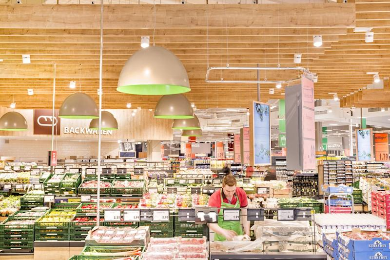 Inside Kaufland stores. Source: Kaufland