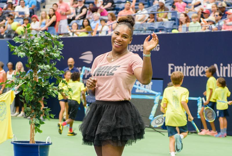 Serena Williams preps for the U.S. Open by reflecting on some moments as a mom. More