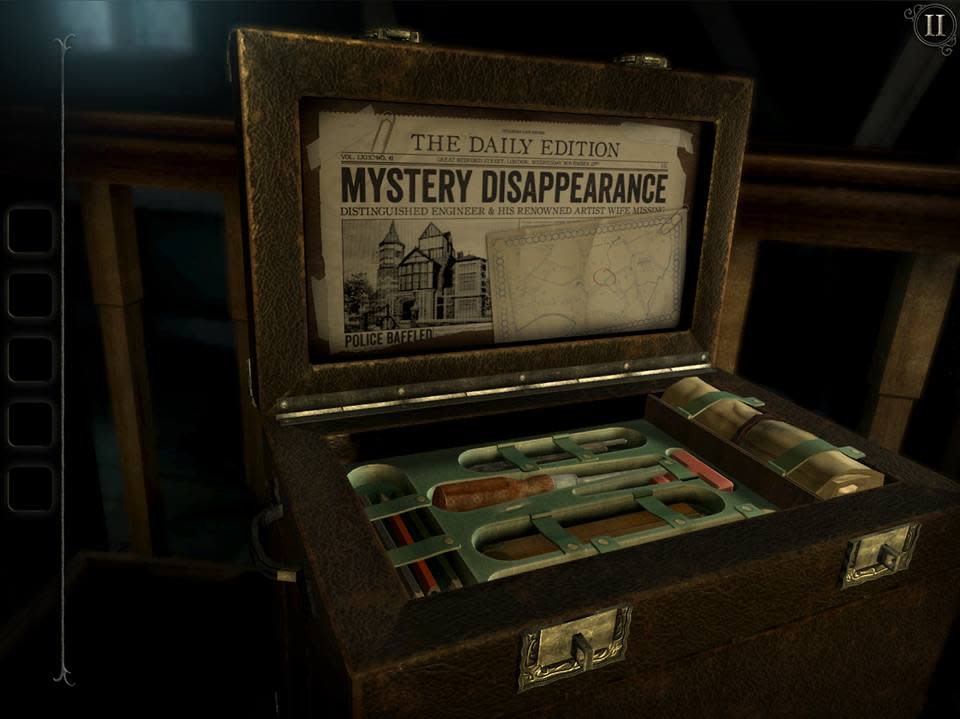 'The Room: Old Sins' sees you searching through a creepy old house to reveal all of its secrets.