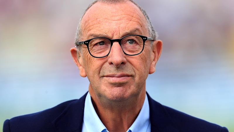 David Lloyd, pictured here during commentary duties during the 2019 Ashes series.