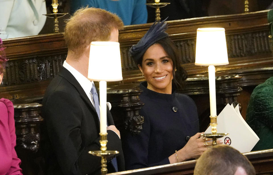 """<p>When Meghan Markle looked at the camera like Jim from """"The Office."""" </p>"""