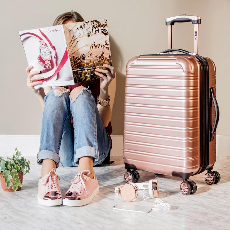 This $69 Rose Gold Suitcase Is Going to Sell Out Any Second - We Can See Why!