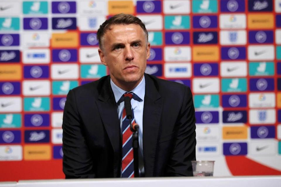 England Women manager Phil Neville (Getty Images)