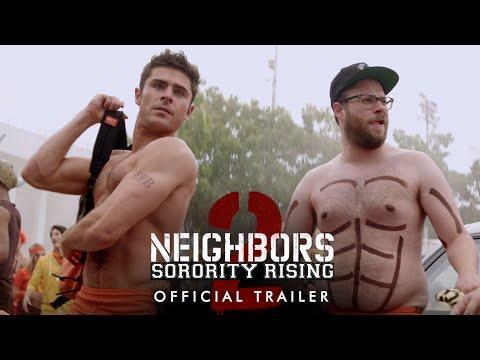 "<p><em>Neighbors 2 </em>is not as good as <em>Neighbors, </em>but it's still a good time. Honestly, it's kind of hard to drop Seth Rogen, Zac Efron, Rose Byrne, Ike Barinholtz, and the rest of the gang into any of these situations and have the movie <em>not </em>be funny. This sequel finds the Efron/Rogen duo going up against a devilish sorority led by Chloë Grace Moretz. </p><p><a class=""link rapid-noclick-resp"" href=""https://www.amazon.com/Neighbors-Sorority-Rising-Seth-Rogen/dp/B01FV4PH2U?tag=syn-yahoo-20&ascsubtag=%5Bartid%7C2139.g.33509661%5Bsrc%7Cyahoo-us"" rel=""nofollow noopener"" target=""_blank"" data-ylk=""slk:Stream It Here"">Stream It Here</a></p><p><a href=""https://youtu.be/X2i9Zz_AqTg"" rel=""nofollow noopener"" target=""_blank"" data-ylk=""slk:See the original post on Youtube"" class=""link rapid-noclick-resp"">See the original post on Youtube</a></p>"