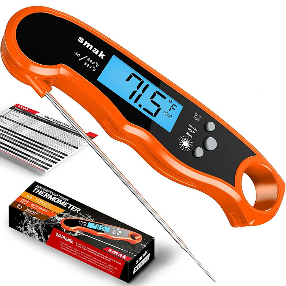 Digital Instant Read Meat Thermometer. Image via Amazon.