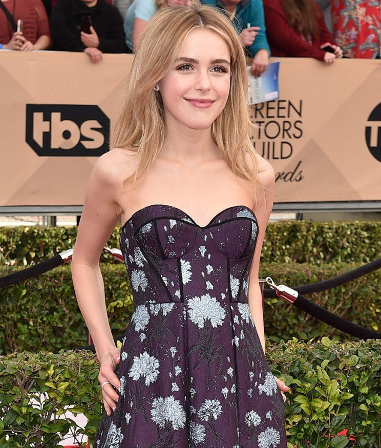 Kiernan Shipka knows a good story. (Photo: Jordan Strauss/Invision/AP)