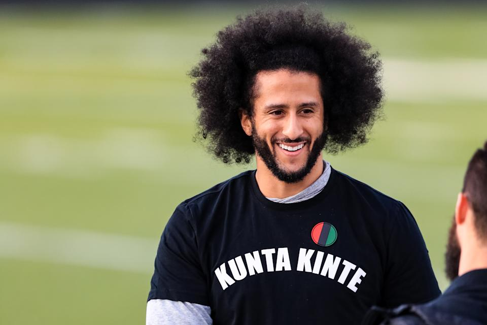 Netflix will stream a six-episode series on Colin Kaepernick. (Photo by Carmen Mandato/Getty Images)