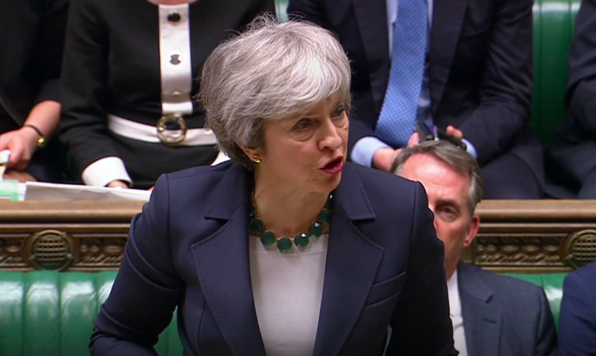 <em>Theresa May has been urged to resign after suffering yet another humiliating Brexit defeat (PA)</em>