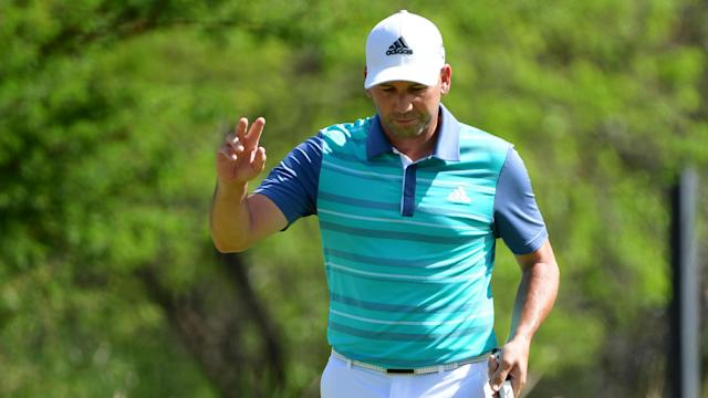 Sergio Garcia made a brilliant start as he eyes back-to-back titles, shooting his lowest round in Sun City for 17 years.
