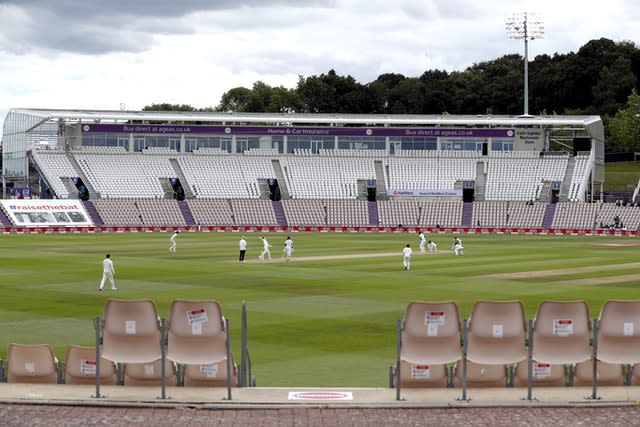 England played under coronavirus restrictions at home last summer