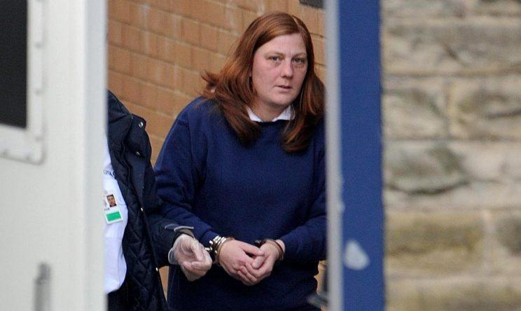 Matthews after being charged in relation to her daughter's kidnapping (Picture: PA)