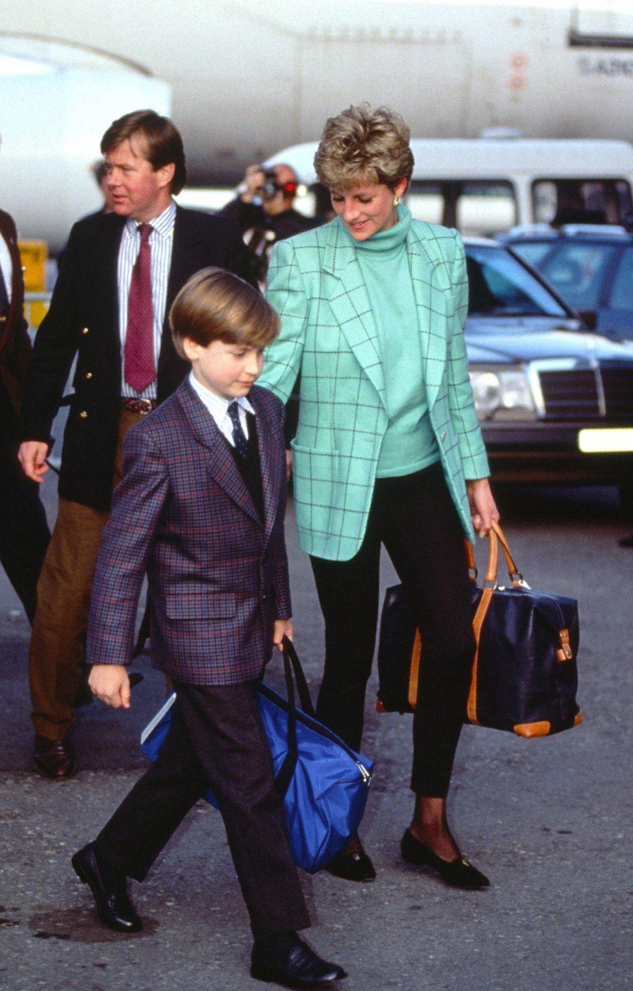<p>With Prince Charles and Princess Diana now separated, Diana takes her children on a skiing holiday to Austria. </p>