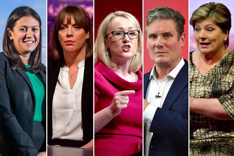 The remaining contenders in the race to replace Jeremy Corbyn as Labour leader