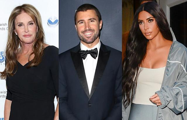 Caitlyn Jenner, Brody Jenner, and Kim Kardashian (Photo: Getty Images)
