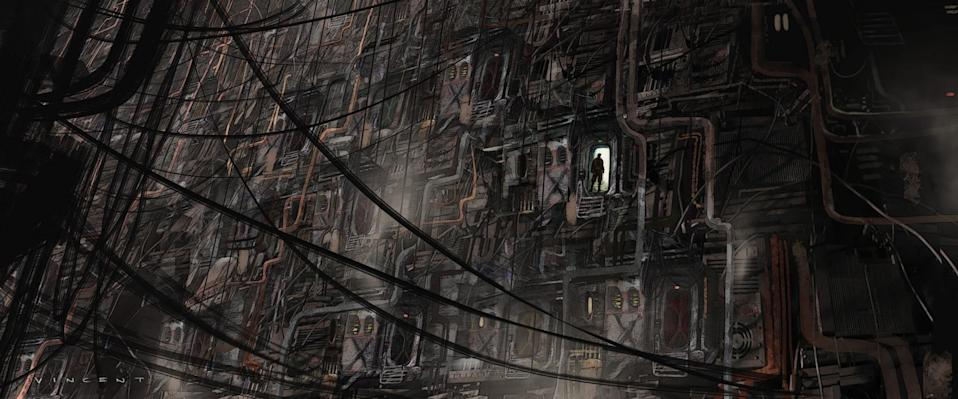 <p>This hulking city of scrap metal served as the basis for the Ring of Kafrene, the asteroid locale where Cassian meets his contact, Tivik, for intel on Saw Gerrera. </p>