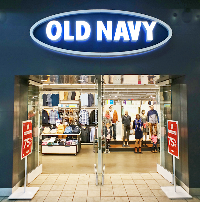 You may not want to go in if you're already wearing Old Navy. (Photo: Getty Images)