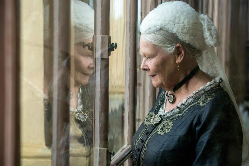 Dench is haughty and imperious when she needs to be but brings quiet humour and tenderness to the role too