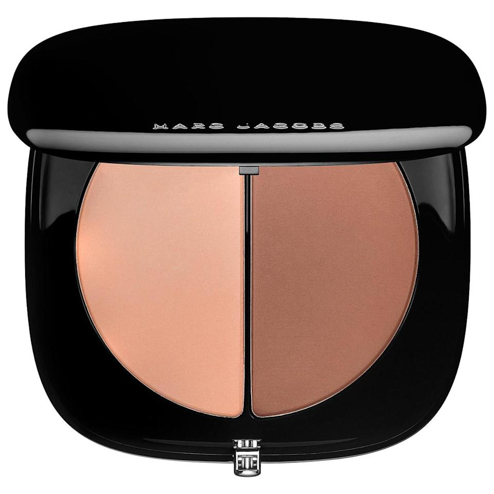 """<p>Use these two contouring powders together to make you look like you're in camera-ready lighting. The silky botanical powders are enhanced with vitamins A, C, and E. <a href=""""http://www.marcjacobs.com/%23instamarc-light-filtering-contour-powder/C4000812.html"""" rel=""""nofollow noopener"""" target=""""_blank"""" data-ylk=""""slk:Marc Jacobs Beauty #Instamarc Light Filtering Contour Powder"""" class=""""link rapid-noclick-resp"""">Marc Jacobs Beauty #Instamarc Light Filtering Contour Powder</a> ($38)</p><p><i>(Photo: Sephora)</i></p>"""