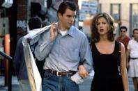"<p>The trailer for this 1996 Edward Burns film introduces us to a family where ""men are men and women are women""...the women being Aniston and Cameron Diaz. It's a bit of dated, hyper gendered notion in today's social climate, but still a must-see for any Aniston enthusiast.</p><p><a class=""link rapid-noclick-resp"" href=""https://www.amazon.com/Shes-One-John-Mahoney/dp/B000SVZIHQ/ref=sr_1_1?tag=syn-yahoo-20&ascsubtag=%5Bartid%7C10063.g.36311626%5Bsrc%7Cyahoo-us"" rel=""nofollow noopener"" target=""_blank"" data-ylk=""slk:WATCH NOW"">WATCH NOW</a></p>"
