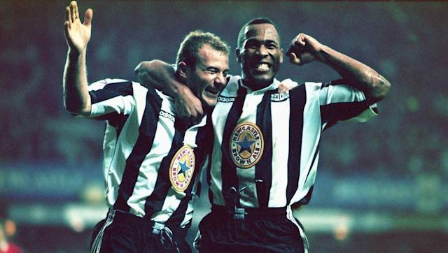 <p>When a player scores 260 Premier League goals during his career, it should come as no surprise that he features in a handful of lethal strike partnerships. </p> <br><p>Alan Shearer and Les Ferdinand starred in a Newcastle team known for their faced-paced attacking football and it was their goals which saw the Magpies finish second in the league on goal difference after Arsenal and Liverpool also finished on 68 points.</p> <br><p>That was not to last, as Shearer suffered an ankle injury in pre-season and Ferdinand was sold to Spurs.</p>