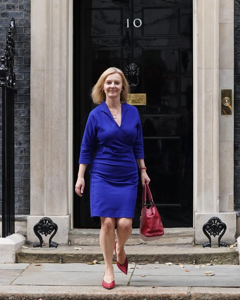 Newly appointed foreign secretary Liz Truss.