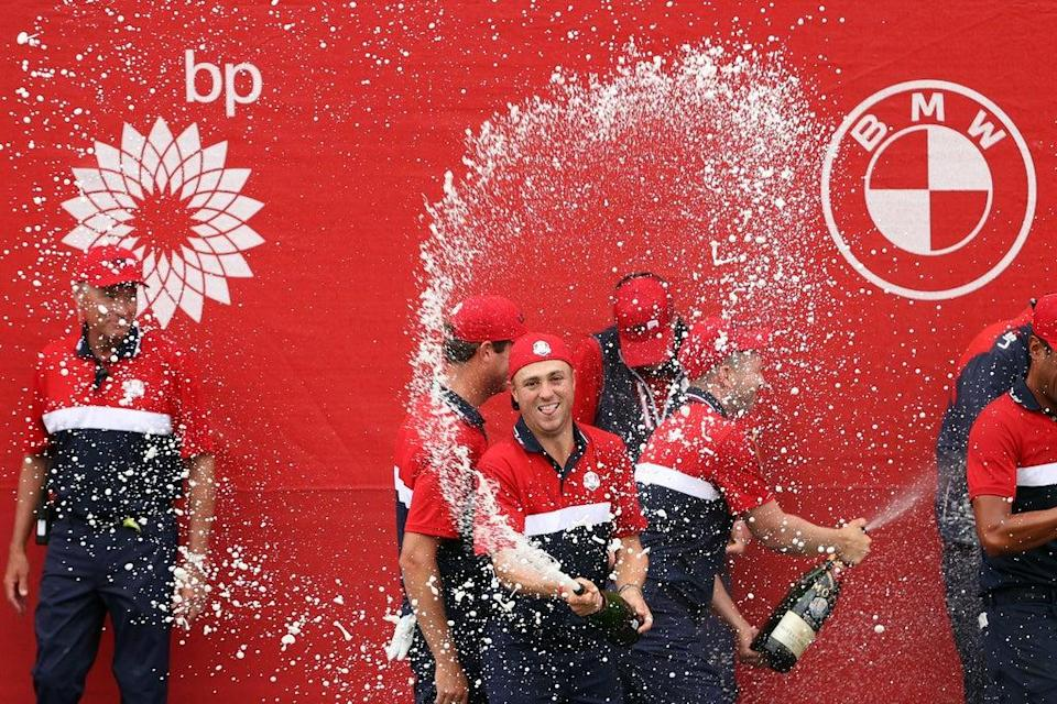 The USA team contained eight of the world's ten top-ranked golfers (Getty Images)