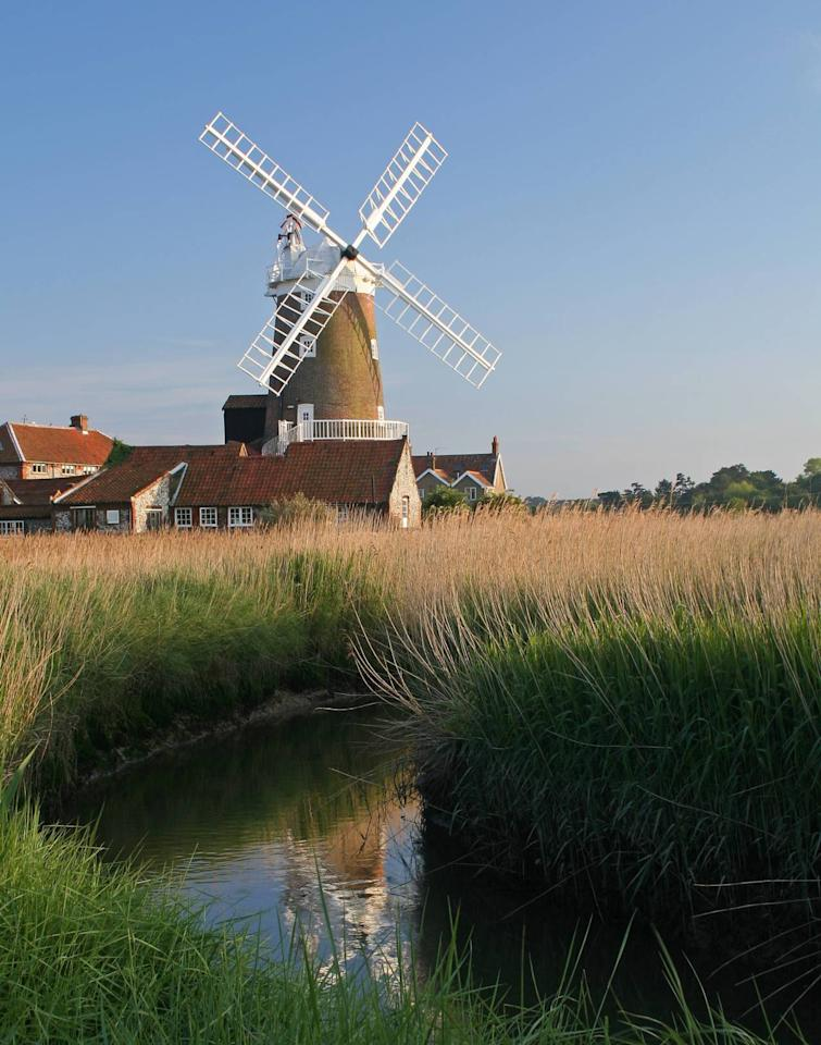 "<p>How about getting hitched in a windmill by the Norfolk coast? <a href=""http://www.cleywindmill.co.uk/weddings/"">Cley Windmill </a>is next to the former quayside of the River Glaven and has superb views over the salt marshes towards the harbour. With six rooms (including three in the tower) there's a maximum capacity of 20 people - so it's a bijou option. Weddings from £795 (ceremony only) or from £1,431 to book the whole windmill for accommodation. [Photo: Cley Windmill]</p>"